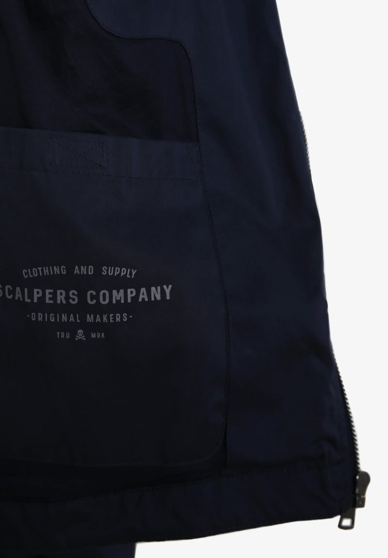 TECHNICAL JACKET WITH FLAP POCKET
