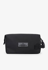 TECHNICAL TOILETRY BAG WITH CORD DETAIL