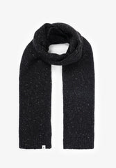 FLECKED KNIT SCARF