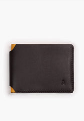 WALLET WITH CONTRAST INTERIOR