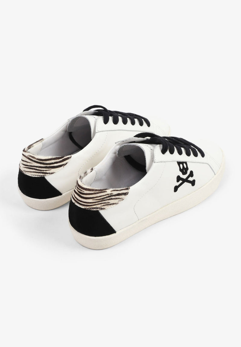 SNEAKERS WITH ZEBRA PRINT