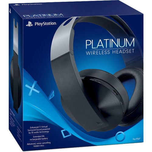 PlayStation Platinum Wireless Headset - PlayStation 4