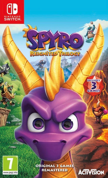 Spyro Reignited Trilogy Switch (Free Shipping) - Twenty Eleven Store