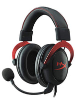 Hyperx Cloud Ii Gaming Headset Pc/Ps4/Mac/Mobile, Red - Twenty Eleven Store