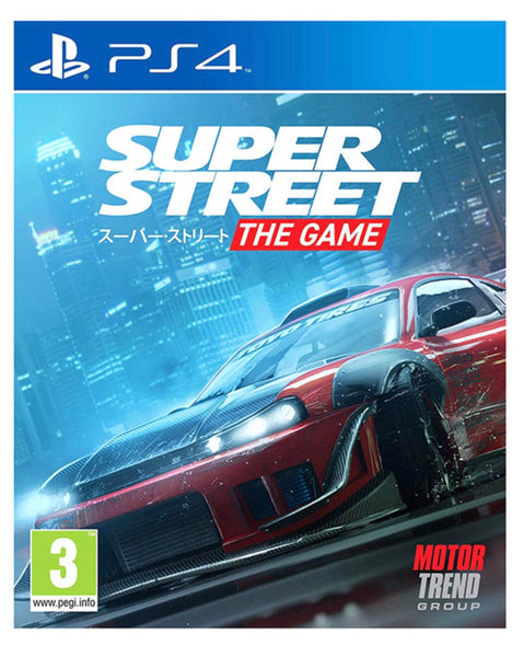 Super Street The Game - Playstation 4 - Twenty Eleven Store
