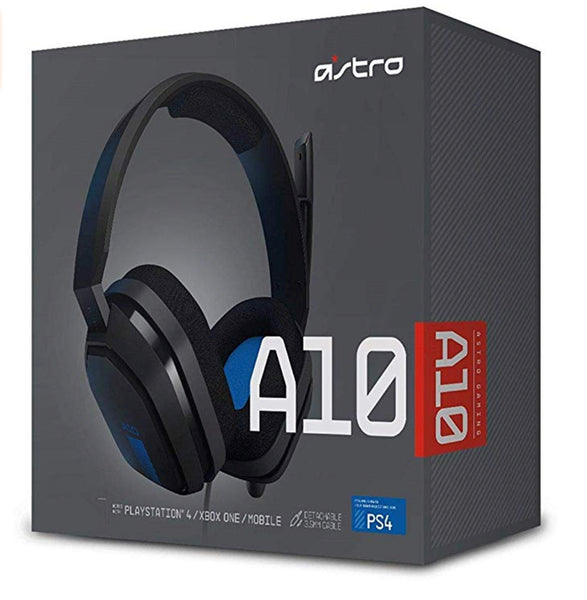 ASTRO Gaming A10 Gaming Headset - Black - PlayStation 4 - Twenty Eleven Store