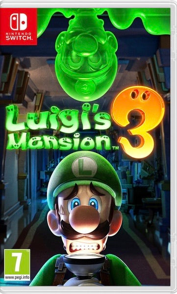Luigi's Mansion 3 - Nintendo Switch - Twenty Eleven Store
