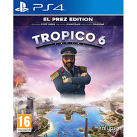 Tropico 6 El Prez Edition PS4 Game - Twenty Eleven Store