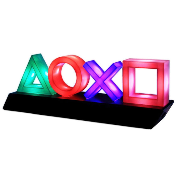 Paladone Playstation Icons Light with 3 Light Modes - Music Reactive Game Room Lighting - Twenty Eleven Store