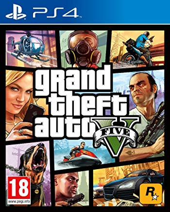 PS4 - Grand Theft Auto V (AT-PEGI) uncut