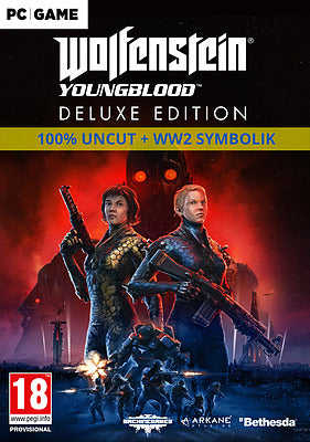 PC - Wolfenstein: Youngblood Deluxe Edition uncut (Englisch)