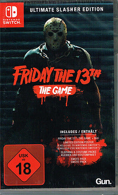 Switch - Friday the 13th: The Game Ultimate Slasher Edit.