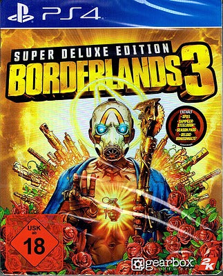 PS4 - Borderlands 3 Super Deluxe Edition