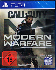 PS4 - Call of Duty Modern Warfare uncut