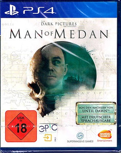 PS4 - The Dark Pictures: Man of Medan