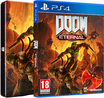 PS4 - DOOM Eternal Day 1 Edition (AT-PEGI)