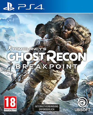 PS4 - Ghost Recon Breakpoint + Boni (AT-PEGI) uncut