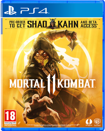 PS4 - Mortal Kombat XI uncut (AT-PEGI)