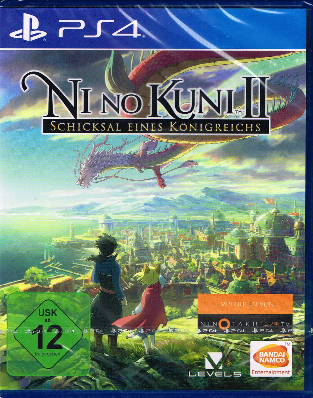 PS4 - Ni No Kuni 2: Revenant Kingdom uncut