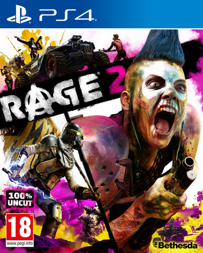 PS4 - Rage 2 uncut (AT-PEGI)