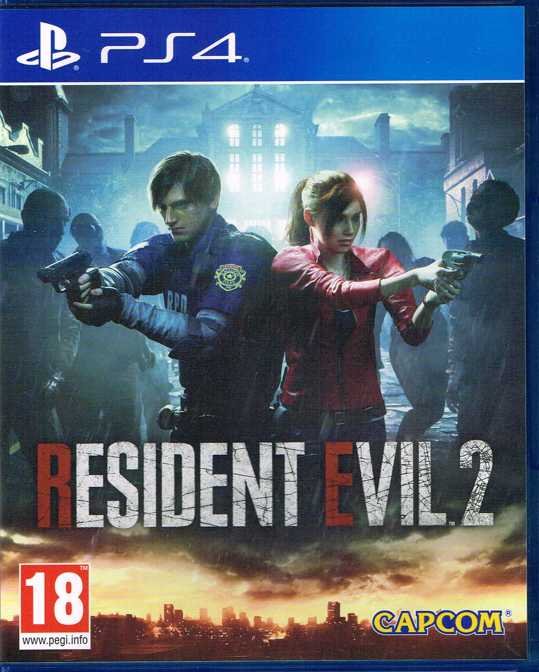 PS4 - Resident Evil 2 Remake uncut (AT-PEGI)