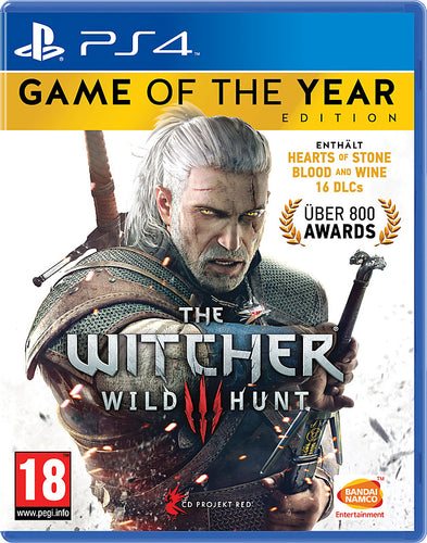 PS4 - The Witcher 3: Wild Hunt Game of the Year Edition uncut (AT-PEGI)