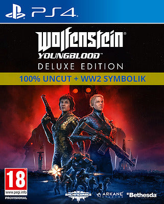 PS4 - Wolfenstein: Youngblood Deluxe Edition uncut (Englisch)