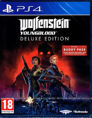 PS4 - Wolfenstein: Youngblood Deluxe Edition (AT-PEGI)