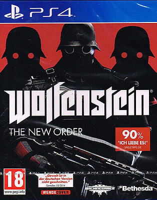 PS4 - Wolfenstein: The New Order (AT-PEGI) uncut