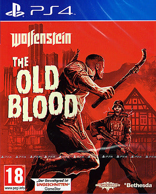 PS4 - Wolfenstein: The Old Blood (AT-PEGI) uncut