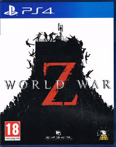 PS4 - World War Z uncut (AT-PEGI)