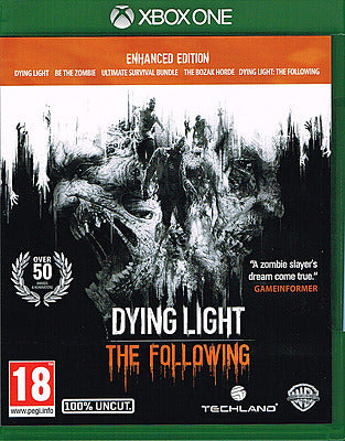 Xbox - Dying Light The Following Enhanced Edition uncut (AT-PEGI)