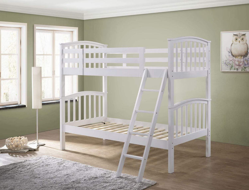 Artisan Bed Company Bunk Bed George 2 In 1 White Bunk Bed