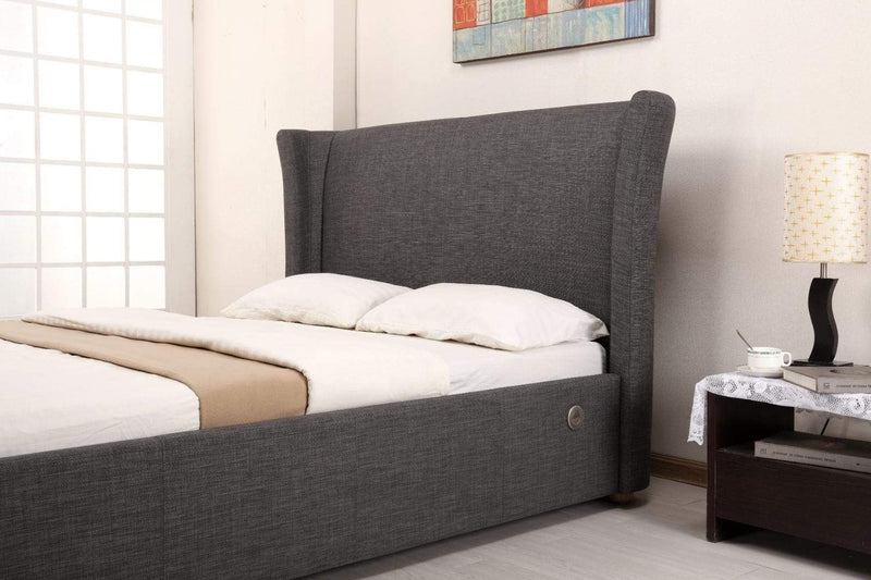 Artisan Bed Company TV Bed Bluetooth Tv Bed - Grey Fabric