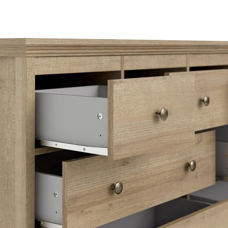 Silkeborg Chest of 8 Drawers (4+2+2) in Riviera Oak
