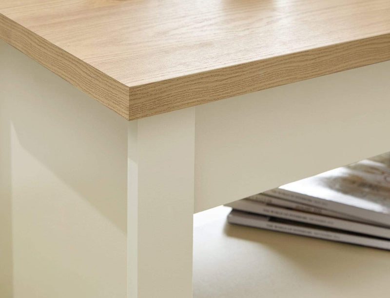 Lancaster Lift Up Coffee Table Cream