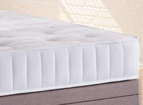 Deluxe Beds Fabric Bed Honiton Divan Bed Set (Base + Mattress) Bed Kings