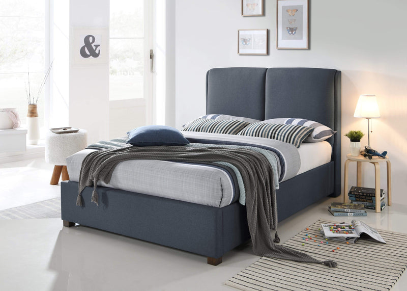 Oakland Bed Frame - Dark Grey Fabric