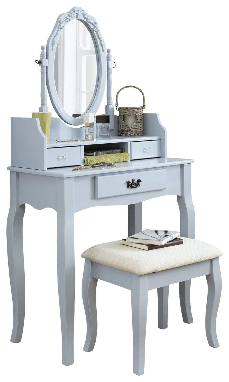 GFW Dressing Table Set Lumberton Dressing Table Set  Duck Egg Blue