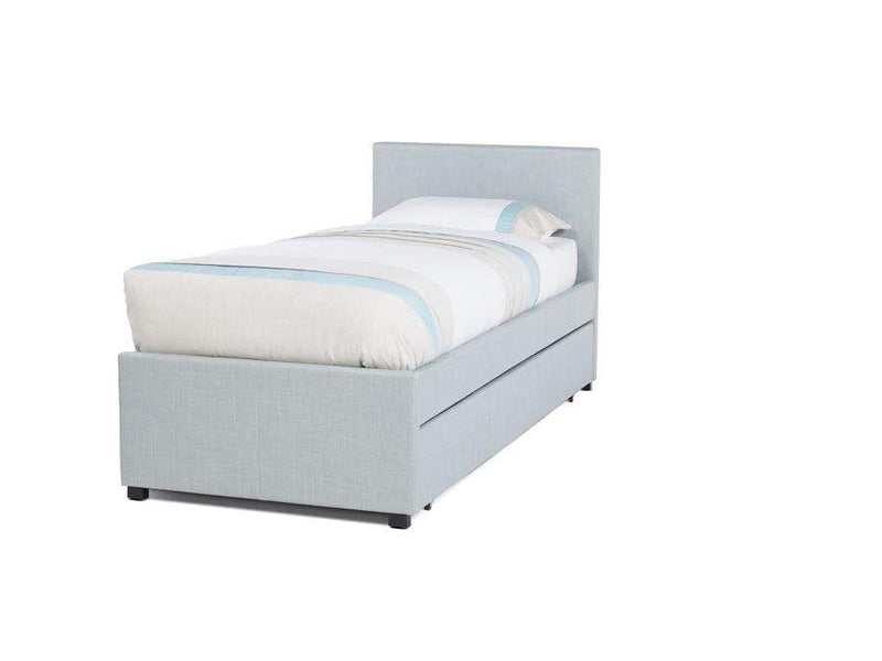 Serene Guest Bed Single 90cm 3ft Lily  Upholstered Fabric Bed - Ice Bed Kings
