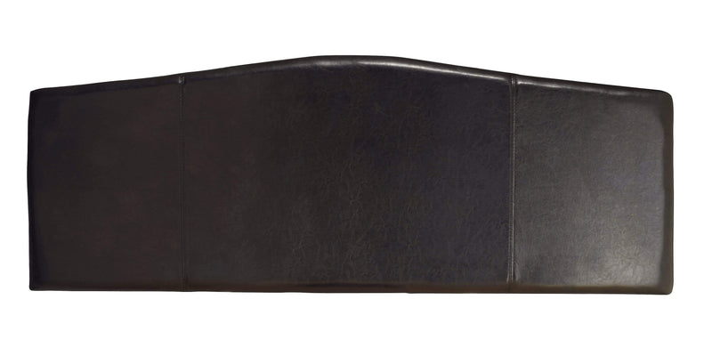 Serene Headboard Rosa  Leather Headboard - Black Bed Kings