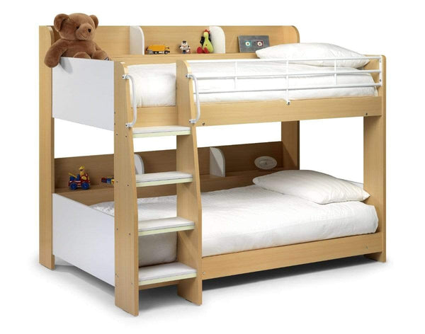 Julian Bowen BUNK BED Domino Bunk Maple