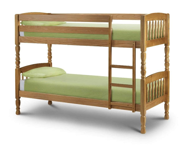 Julian Bowen BUNK BED Lincoln Bunk Bed 90Cm