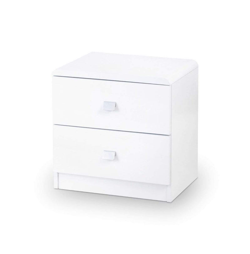 Julian Bowen Drawers Domino 2 Drawer Bedside