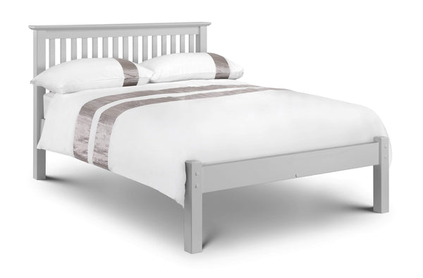 Julian Bowen Wood Bed Barcelona Bed Lfe - Dove Grey - Wood - Dove Grey