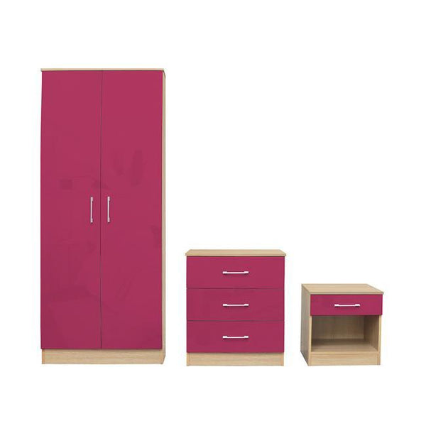 LPD Bedroom Set Dakota Bedroom Set Pink Bedroom Set
