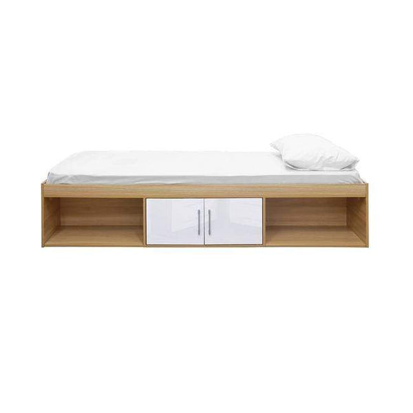 LPD Cabin Bed Dakota Cabin Bed Oak-White Cabin Bed