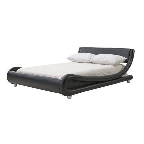 LPD Leather Bed Double 135cm 4ft 6in Galaxy Bed Frame