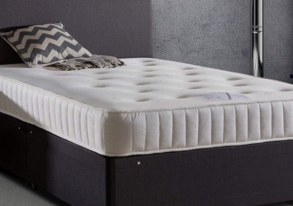 Deluxe Beds Mattress Monet Tufted Memory Foam Mattress With Open Coil Springs Bed Kings