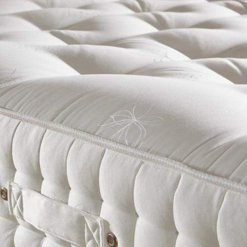 Deluxe Beds Mattress Natural Luxury - 1500 Pocket Spring Mattress - Medium Firmness Bed Kings